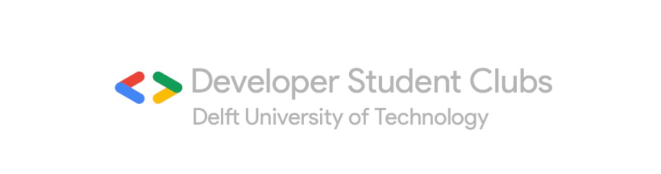 Developer Student Clubs - Delft Banner