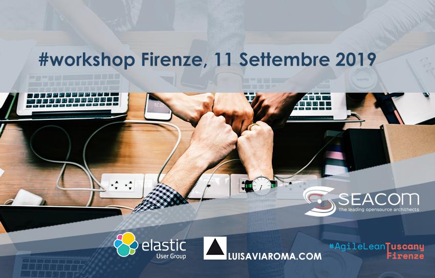 Workshop  Refactoring Elasticsearch  (FIRENZE) Banner