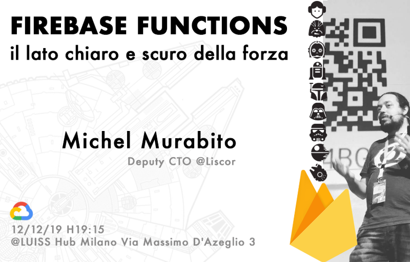 Meetup #AperiTech MILANO di GDG Cloud MIlano Banner