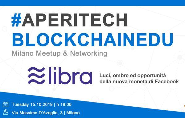 MILANO - Meetup #AperiTech di Blockchain Education Network Italia Banner