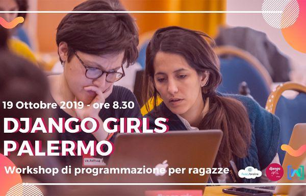 Django Girls Palermo Banner