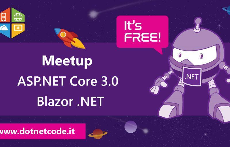 ASP.NET Core 3.0 e Blazor Banner