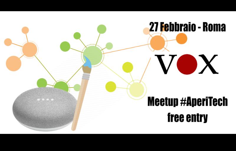 Ok Google, disegnamo un grafo! - Vox Machina #AperiTech Banner
