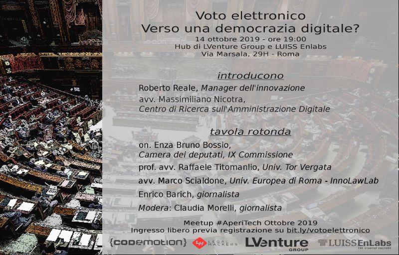 Voto Elettronico: Verso una democrazia digitale? Banner